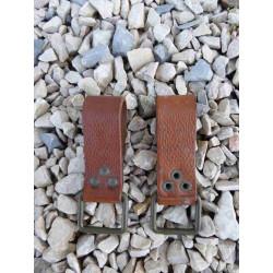 Passant cuir ceinture tcheque