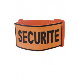 Brassard Brode Securite Orange