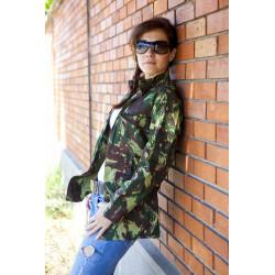 Veste Camouflage Lezard femme