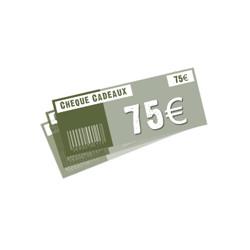 Chèque 75 ¤