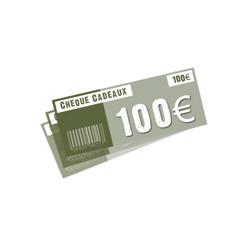 Chèque 100 ¤