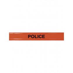 Brassard Police Roll Strap