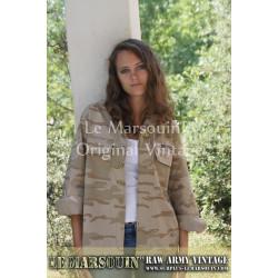 Veste camouflage desert femme