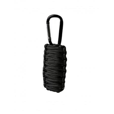 Kit de Survie Paracorde Noir PM