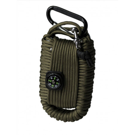 Kit de Survie Paracorde Vert GM