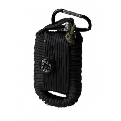 Kit de Survie Paracorde Noir GM