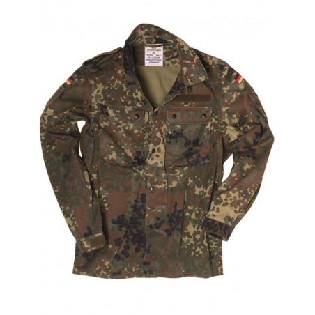 Camouflage Treillis Allemande Treillis Veste Flecktarn Veste Allemande mNwOvn80