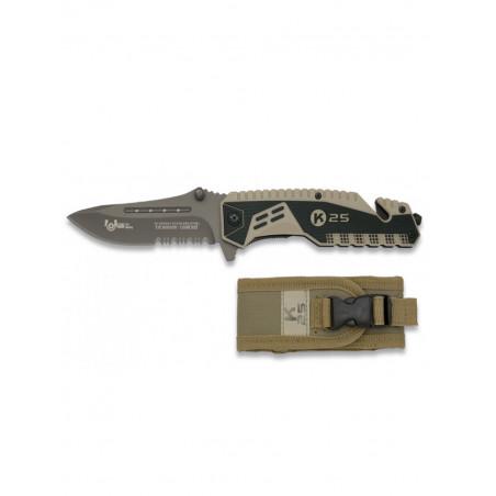 Couteau De Poche K25 Désert 19443-A
