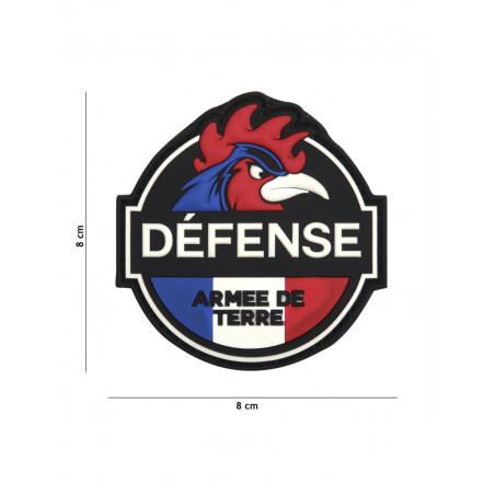 Ecusson Défense Armée De Terre PVC