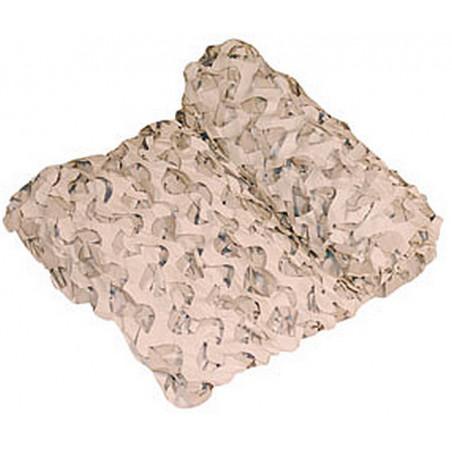Filet de camouflage Blanc 6mX2,4m