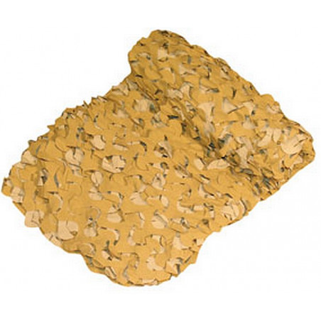 Filet de camouflage Desert (Beige) 6mX2,4m