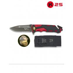 Couteau De Poche K25 Sapeur-pompier 19653-A
