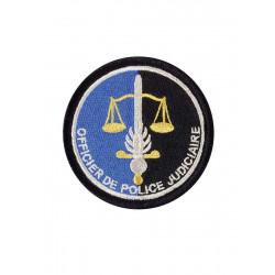 Ecusson Gendarmerie OPJ brodé