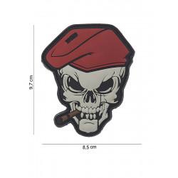 Ecusson Skull Sigar PVC