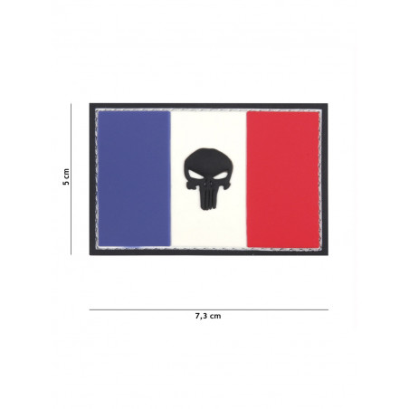 Ecusson Punisher France PVC