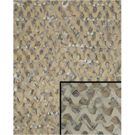 Filet Camouflage désert avec maille 6mX3m