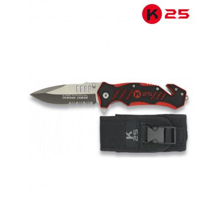 Couteau de poche K25 Sapeurs-Pompiers 19583