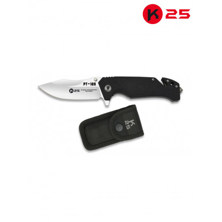 Couteau De Poche K25 noir 18234-A
