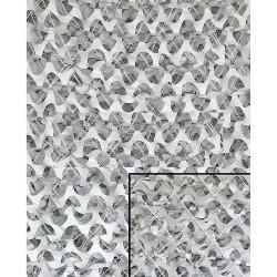 Filet Camouflage Blanc avec maille 6mX3m