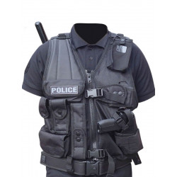 Gilet Intervention Tactique Holster PA / Taser