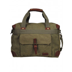 Sac transport vintage coton canvas - Vert OD