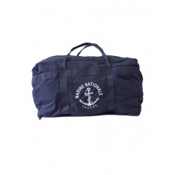 Sac TAP Marine Nationale toile coton pm - Bleu