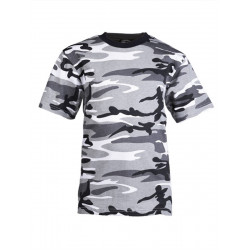 T-shirt Militaire Enfant camo - Urban