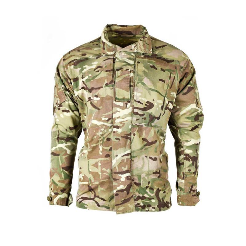 Chemise mtp arm e anglaise occasion surplus militaire - Treillis militaire occasion ...