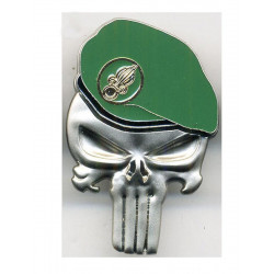 Insigne Punisher Beret Legion Etrangere