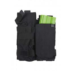 Porte chargeur HK416 / Famas double bungee 5.11 - Noir