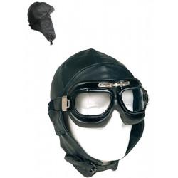 Bonnet Cuir Pilote RAF