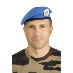 Béret commando bleu ONU