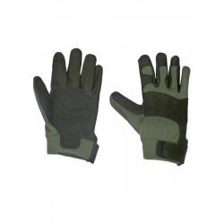 Gants Airsoft Kevlar Noir/Vert
