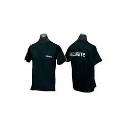 T Shirt Sécurité noir