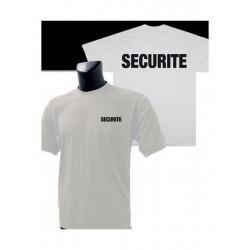 T Shirt Sécurité blanc