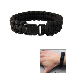 Bracelet paracorde largeur 15mm noir