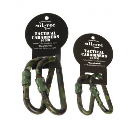Mousqueton Karabiner 80mm