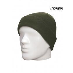Bonnet commando Thinsulate - Vert Armée