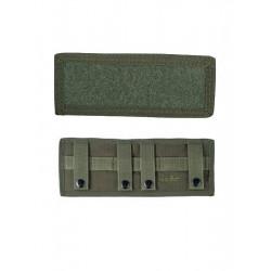 Plaque Velcros MOLLE Arrière Vert Armée
