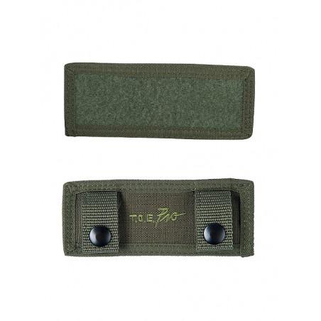 Plaque Velcros MOLLE Avant Vert Armée