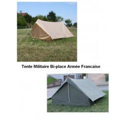 Tente Militaire F1 Armée Francaise Bi-place Sable