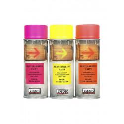 Bombe peinture fluo 400ml Orange