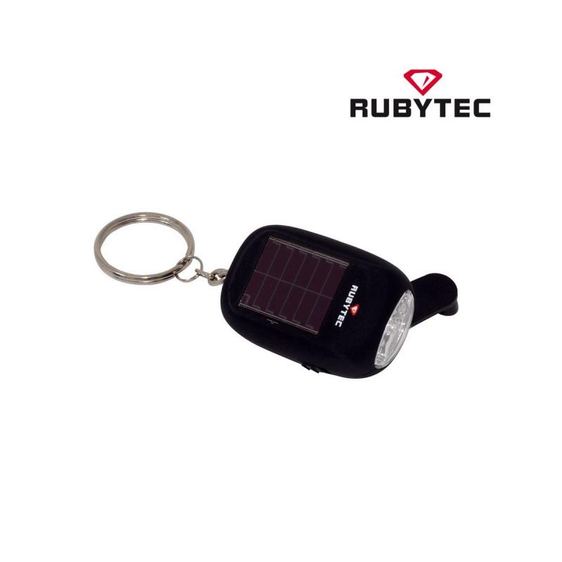 8640c3f661 Lampe Solaire Dynamo Porte clés noire KAO