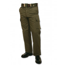 Pantalon polaire doublé grand froid