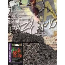 Filet de camouflage Noir 3mX2,4m